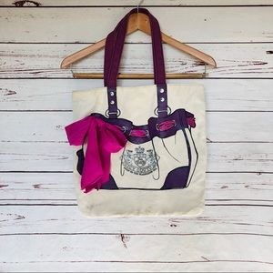 {Juicy Couture} born in the glamorous USA tote